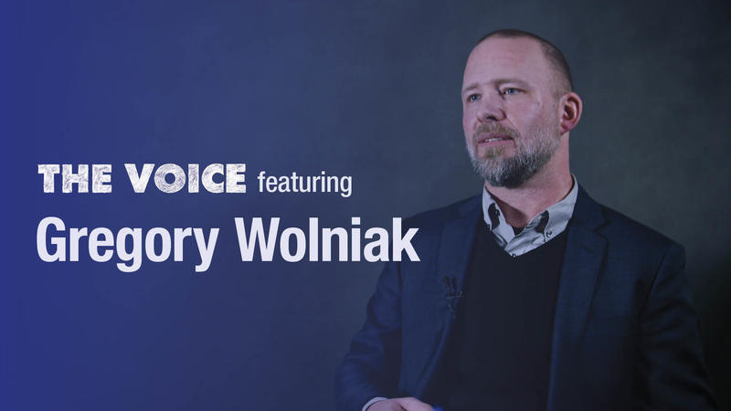 Gregory Wolniak (the Voice)