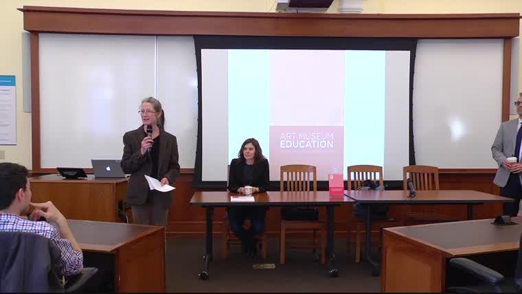 Book Talk: Art Museum Education: Facilitating Gallery Experiences, with Olga Hubard
